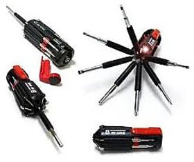 8 In 1 Multi Screwdriver Powerful Torch Kit