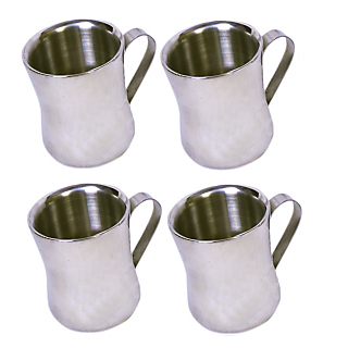 Set of 4 Double Wall Dhol Cups