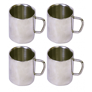 Set of 4 Double Wall Small Sober Cups