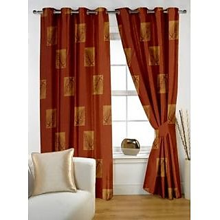 Story@Home Brown  Window Curtain Nature-WNR2034