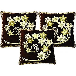 Dream Care Designer Cushion Cover-Set of 3Pcs (Flora01)