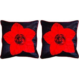 Dream Care Floral Cushion Cover-Set of 2Pcs (Lily06)