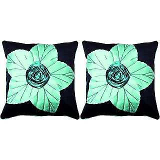 Dream Care Floral Cushion Cover-Set of 2Pcs (Lily05)