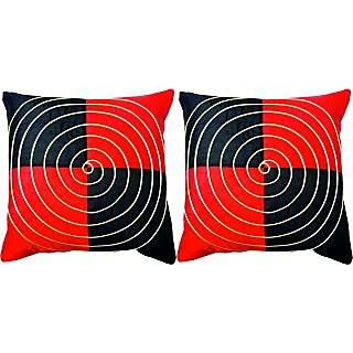 Dream Care Designer Cushion Cover-Set of 2Pcs (Spiral02)