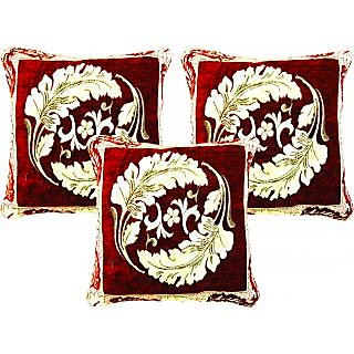 Dream Care Designer Cushion Cover-Set of 3Pcs (Flora04)