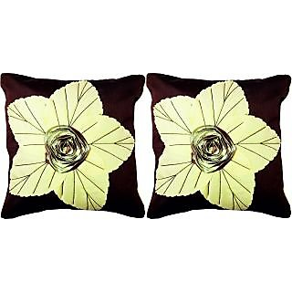 Dream Care Floral Cushion Cover-Set of 2Pcs (Lily02)