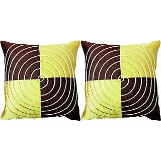 Dream Care Designer Cushion Cover-Set of 2Pcs (Spiral03)
