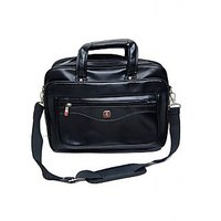 Executive Leatherette Bag Black