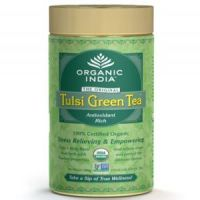 Organic India Pack of 3 Tulsi Green Tea 100 GM Tin