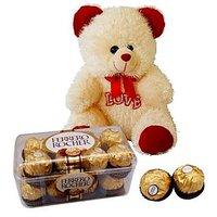 Love Bear N Rochers : Chocolates & Teddies
