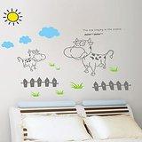Moo Moo Cow Wall Sticker