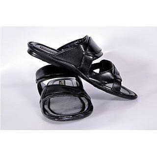 Monitor Men's Black Open Sandals