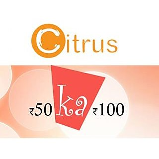 50 Ka 100- Exclusive Citrus Pay Offer
