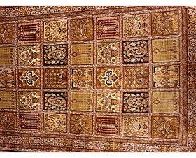 kashmiri hand made silk carpet