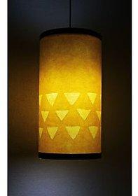 9 GIFTS Yellow Round Hanging Lamp