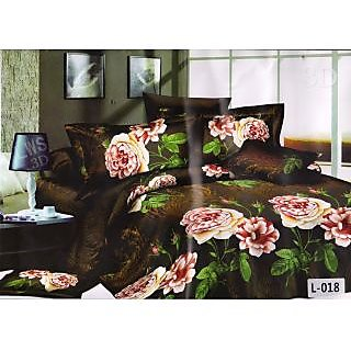 valtellina desinger polycotton double bedsheet with two pillow cover (LKY-011)