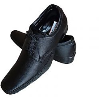 Gripper Branded Men's Black Formal Shoes  / Men's Formal Office Shoes