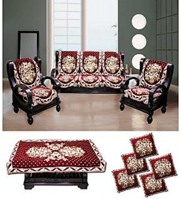 Cushion Cover Home Decor Sofa Case Multi Houses Print Cushion Covers  4Pc Combo