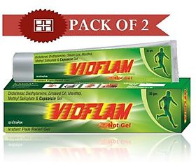 Vioflam Instant Pain Reliever Gel (Pack of 2)