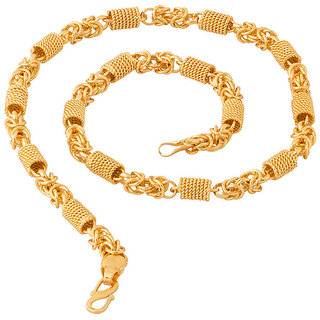 Guarantee Ornament House  Imitation Jewellery Designer Golden Fashion Necklace Chain GOH88