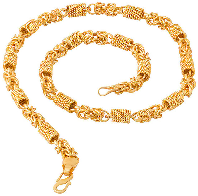 Buy Guarantee Ornament House Imitation Jewellery Designer Golden Fashion Necklace Chain Goh88 Online Get 58 Off