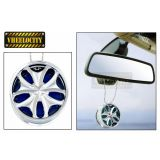 Funky Car Alloy Style Hanging Car Air Freshener Perfume