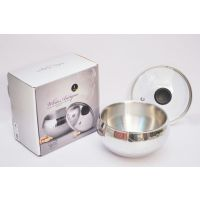Double Wall Stainless Steel Multipurpose Big Bowl Set (Single Piece Set) Export Quality