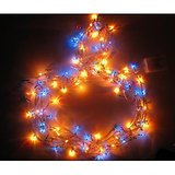 Set Of 3 Multi Colored Decorative Lights For Diwali With 8 Functions