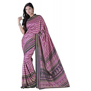 Florence Multicolor Malbani silk Printed Saree