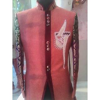 Bhola Fashion Maroon Sherwanis