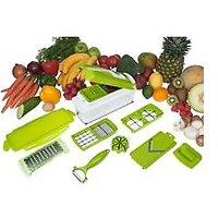 Multi Chopper Vegetable Cutter Fruit Slicer Peeler Nicer Dicer Plus Chopper