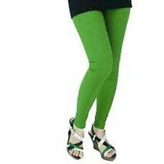 Ladies Beautiful Cotton Lycra Legging  Green