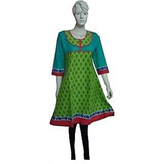 Jaipuri Cotton  Designer Kurti