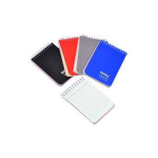 Oddy Spiral Pocket Pad