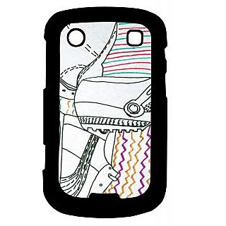 Pickpattern Back Cover For Blackberry Bold 9900 SHOEDESIGN9900-5955