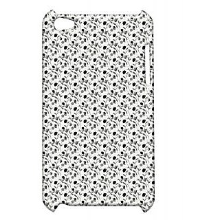Pickpattern Back Cover For Apple Ipod Touch 4 THINBRANCHIT4-4419