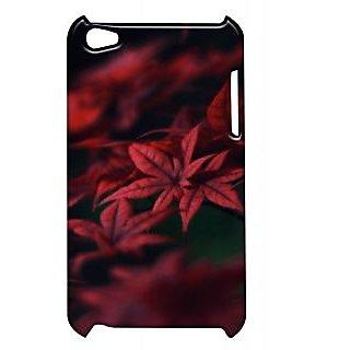 Pickpattern Back Cover For Apple Ipod Touch 4 DARKISHNESSFLOWERIT4-4880