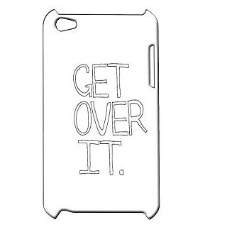 Pickpattern Back Cover For Apple Ipod Touch 4 MOVEONIT4-5143