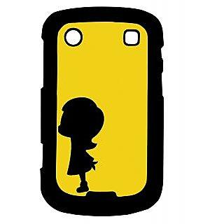 Pickpattern Back Cover For Blackberry Bold 9900 BABYGIRL9900-5989