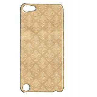 Pickpattern Back Cover For Apple Ipod Touch 5 BEIGEMATRESSIT5-5709
