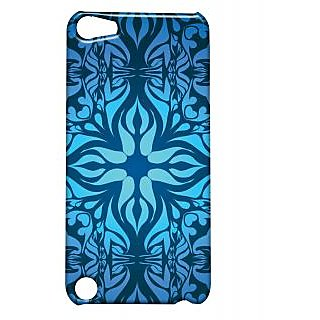 Pickpattern Back Cover For Apple Ipod Touch 5 BLUEETHNICIT5-5573
