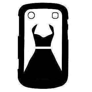 Pickpattern Back Cover For Blackberry Bold 9900 LADYBLACK9900-5986