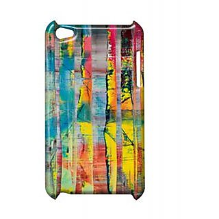 Pickpattern Back Cover For Apple Ipod Touch 4 SPLITPAINTIT4-5374