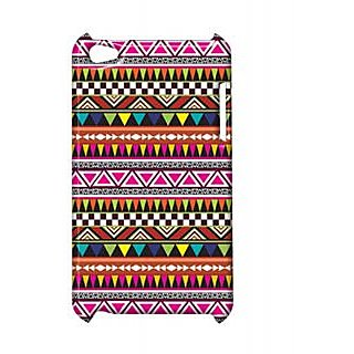 Pickpattern Back Cover For Apple Ipod Touch 4 WARLICOLORFULIT4-5453