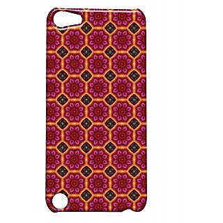 Pickpattern Back Cover For Apple Ipod Touch 5 REDFLOORIT5-5761