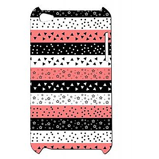 Pickpattern Back Cover For Apple Ipod Touch 4 TYPICALAZTECIT4-5423