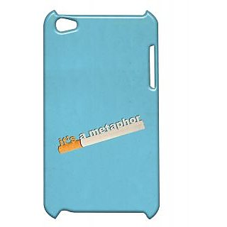 Pickpattern Back Cover For Apple Ipod Touch 4 METAPHORIT4-5131