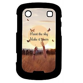 Pickpattern Back Cover For Blackberry Bold 9900 PAINTTHESKY9900-5932