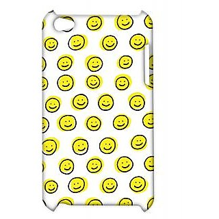 Pickpattern Back Cover For Apple Ipod Touch 4 SMILEYIT4-4381