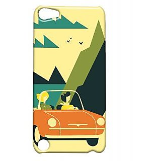 Pickpattern Back Cover For Apple Ipod Touch 5 SUNNYDAYIT5-5476